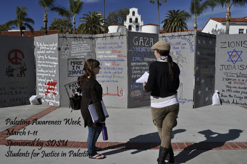 Palestine Awareness Week March 1-11 at San Diego State University