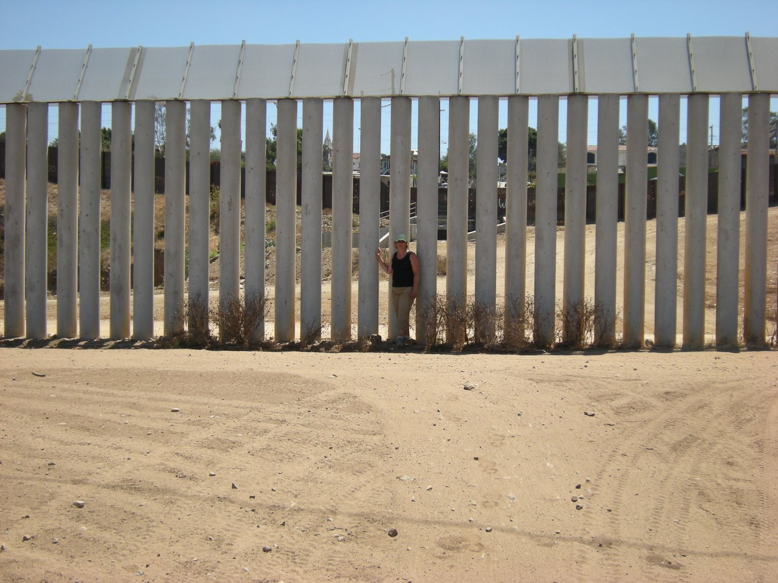 At the edges triple border fence project wins onion for Border wall
