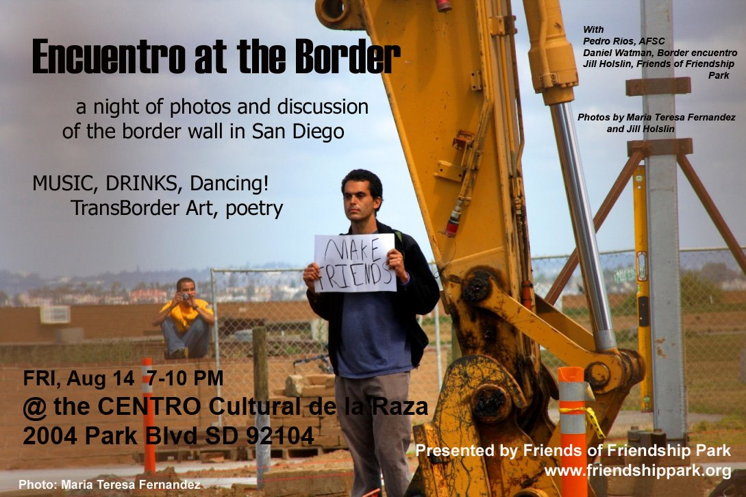 >POSTPONED: Encuentro at the Border @ the CENTRO Cultural de la Raza