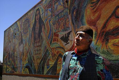 'A rupture in the everyday': A new Chicano mural gives UCSD students a sense of belonging
