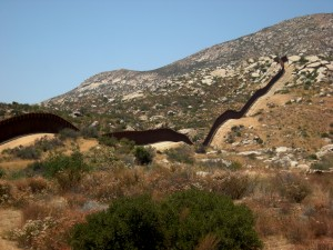 Border wall on Kuchamaa