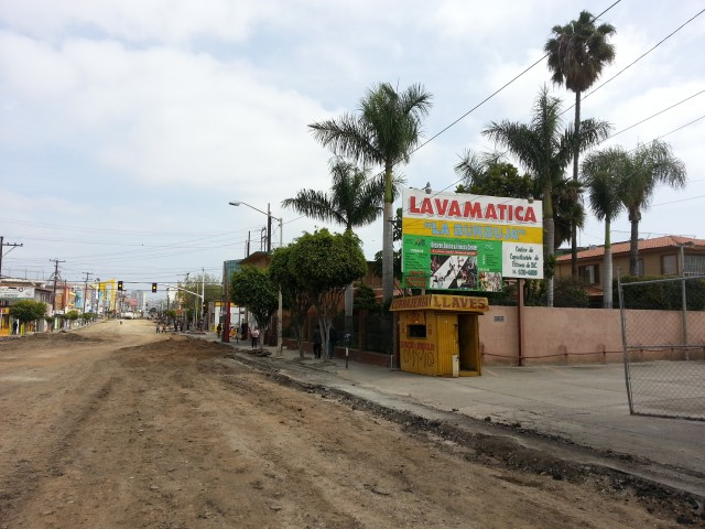 Businesses still open as Tijuana's Calle 2a closes for construction project