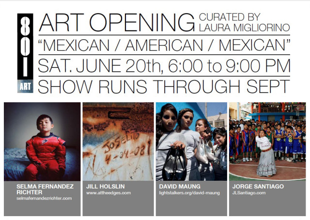 Mexican/American/Mexican curated by Laura Migliorino at 801 Lofts in Minneapolis